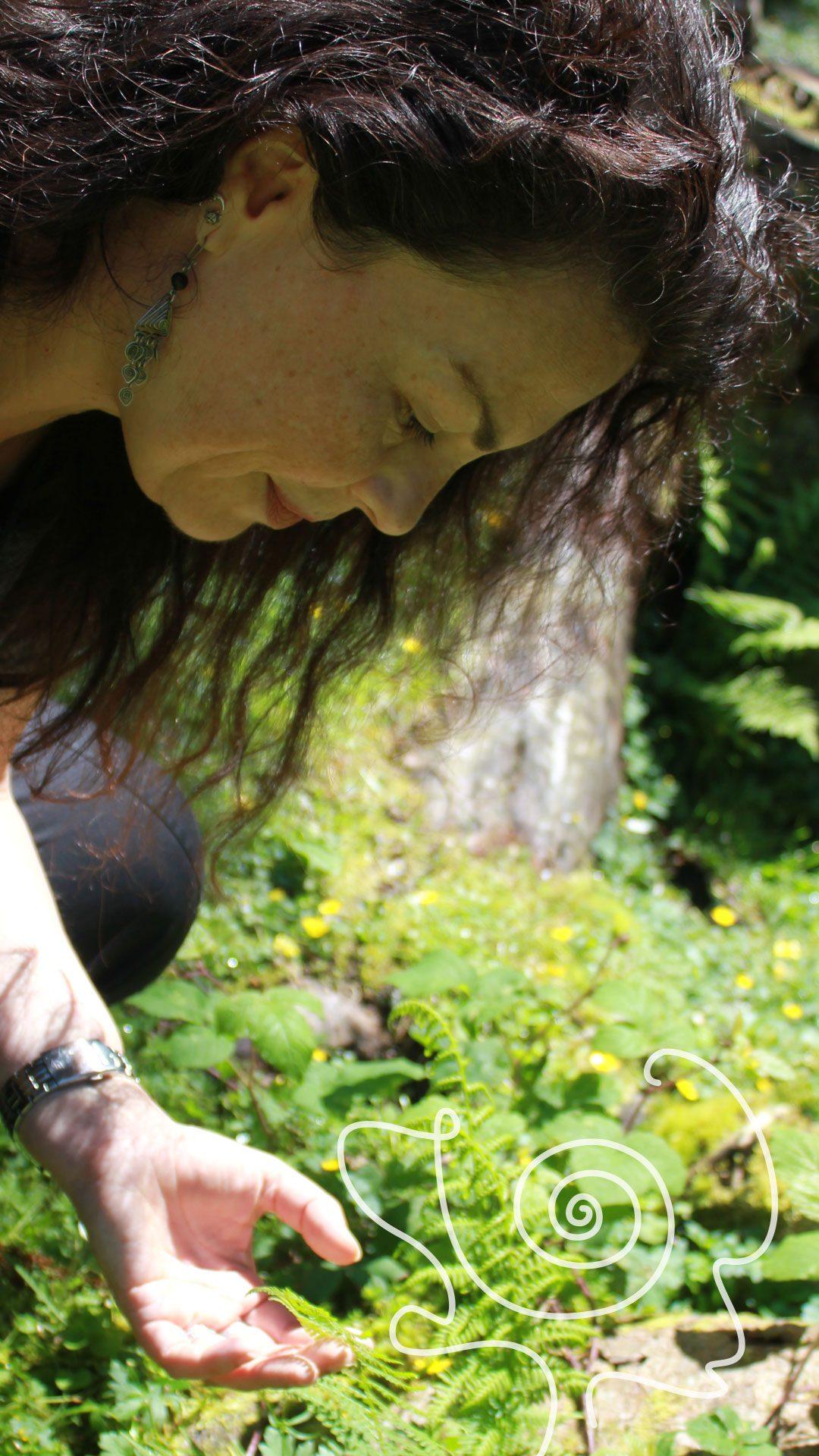 Gerda Ulrich Porträt im Einklang mit der Natur